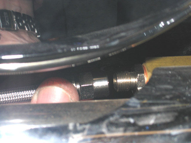 Silver Hose /& Stainless Black Banjos Pro Braking PBR0609-SIL-BLA Rear Braided Brake Line