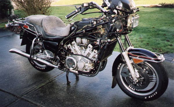 Yamaha Venture Royale Engine